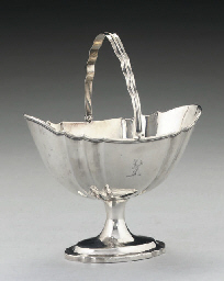 A GEORGE III IRISH SILVER SWIN