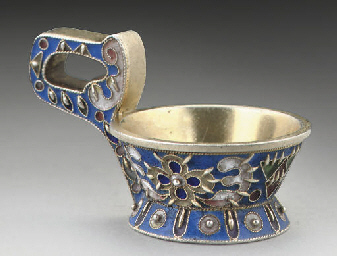 KARL FABERGE, A RUSSIAN SILVER