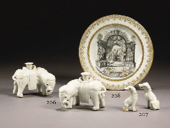ASSIETTE EN PORCELAINE A DECOR