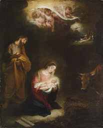 The Nativity with the Annuncia