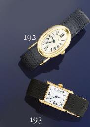 A lady's wristwatch, by Cartie