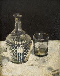 Bottiglia e bicchiere