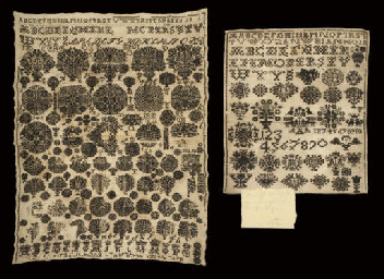 A BLACKWORK SAMPLER, INDISTINC