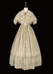 A LADY'S DAY DRESS, 1840S
