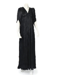 A FORTUNY 'DELPHOS' GOWN