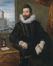 Portrait of Sir John Finet, th