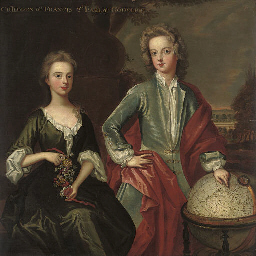 Double portrait of the childre