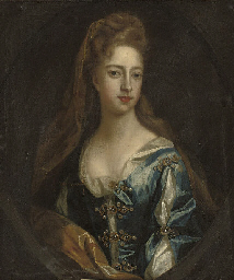 Portrait of Lady Catherine Man