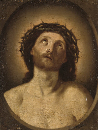 Ecce Homo, in a feigned oval