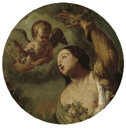 Flora with a putto