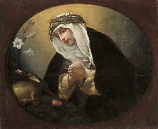 SAINT CATHERINE OF SIENA, IN A