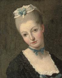 Portrait of a woman, bust-leng