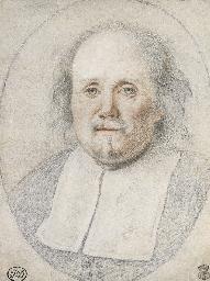 Portrait of a cleric, bust-len