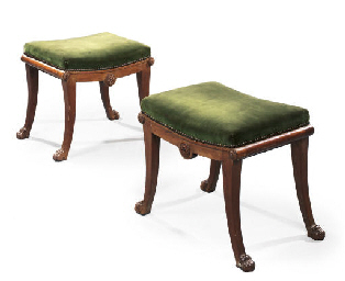 A PAIR OF NORTH ITALIAN WALNUT