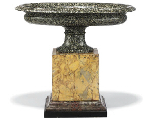 AN ITALIAN GRANITE AND GIALLO