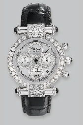 A DIAMOND 'IMPERIALE' WRISTWAT