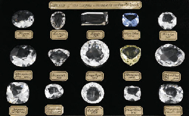 A SET OF HISTORIC DIAMOND MODE