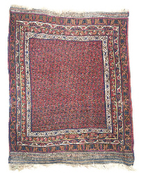 AN UNUSUAL WEST PERSIAN RUG
