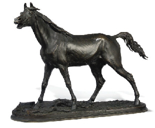 A FRENCH BRONZE MODEL OF THE S