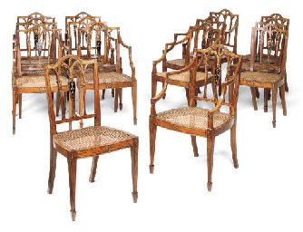 A SET OF FOURTEEN LATE VICTORI