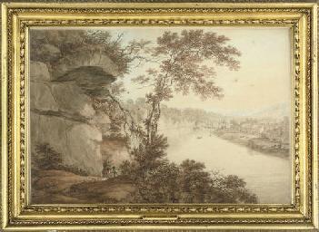 A view down the River Avon, ne