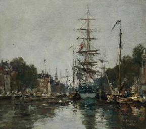 Canal à Rotterdam