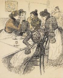 Au Café (Pour Gil Blas, le 29