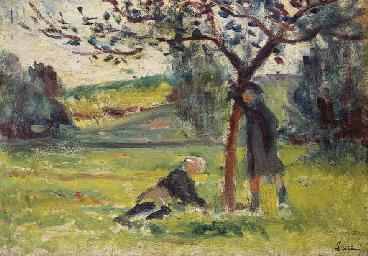 Pommiers à Eragny