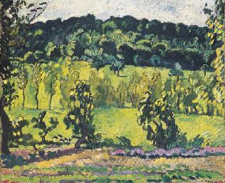 La colline à Choisel