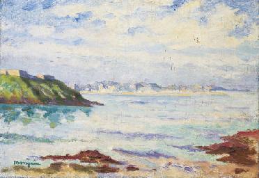 Vue de Dinard, de Saint-Malo
