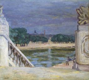 Paris, vue de la Seine au Pont