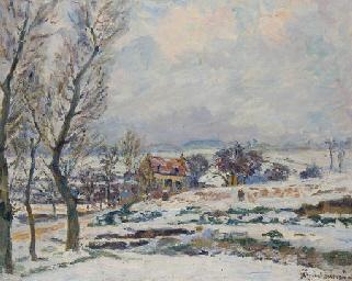 L'hiver à Crozant