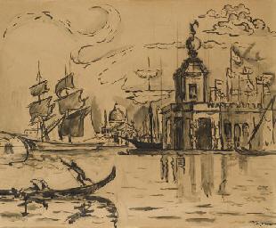 Venise, la Douane de mer