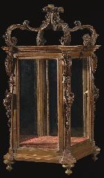 A LOUIS XV FRUITWOOD VITRINE