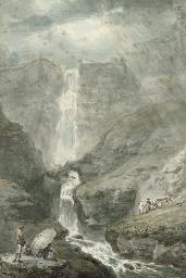 Pistyll Rhaiadr, North Wales