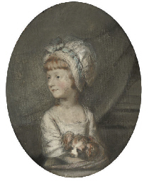 Portrait of a young girl with