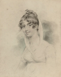 Portrait of a lady, thought to