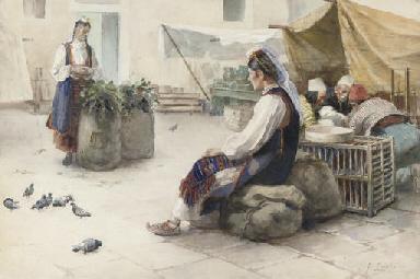 The Turkish vegetable seller