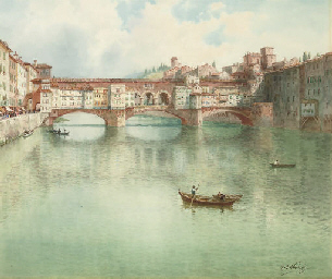 The Ponte Vecchio on the River
