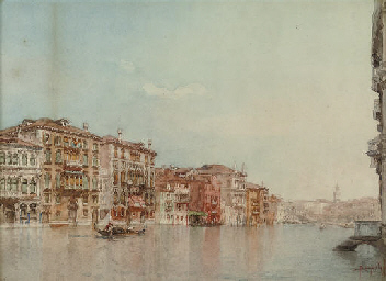 View of the Grand Canal, Venic
