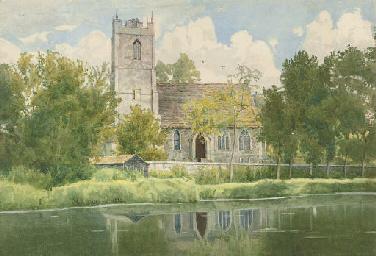 Hartford parish church on the