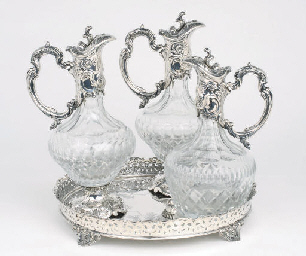 A Pair of Portuguese silver-mo