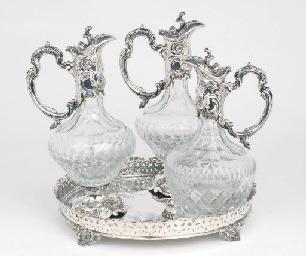 A Pair of Portuguese silver-mo