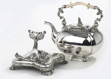 A fine dutch silver hot-water