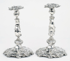 A matched pair of Dutch silver