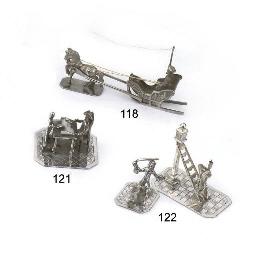 A dutch silver miniature of sl