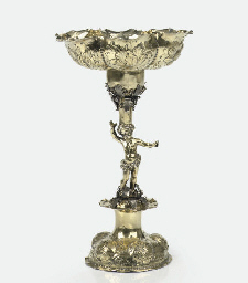 A German silver-gilt 'Hansel i