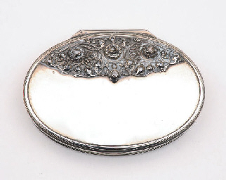 A dutch silver snuff-box
