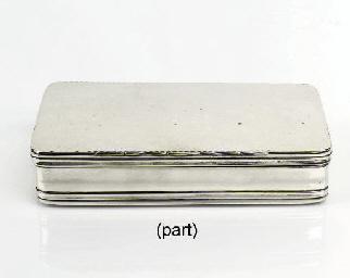A dutch silver tobacco-box and