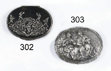 A Dutch silver-mounted tortois